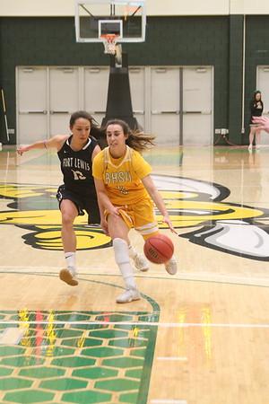 1-12-18 Fort Lewis womens hoops @ BHSU