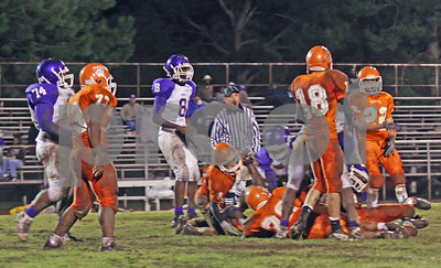 10-09-09 Football-Teague HS vs. Marlin HS