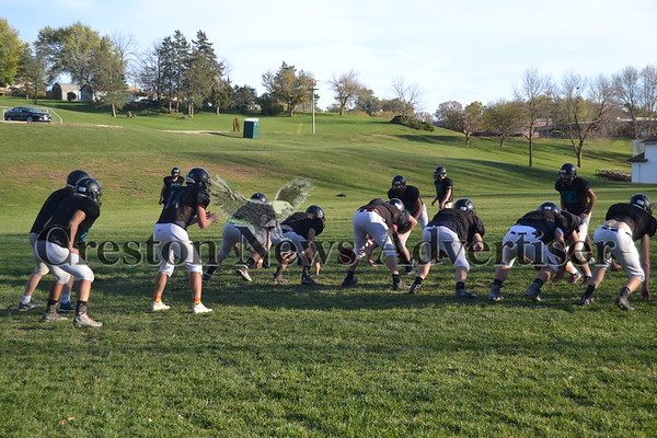10-26 Southwest Valley FB Practice