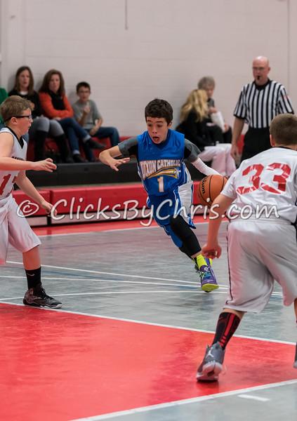 Montmorency vs Dixon Catholic - Basketball 5-6 Grade CD 20141030