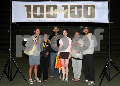 100 on 100 Vermont Relay Race, 08/16/08