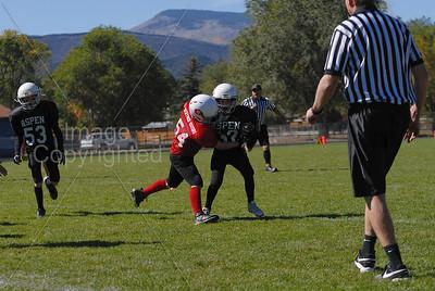 10072012 Aspen2 vs Glenwood 5'th/6'th grade Football