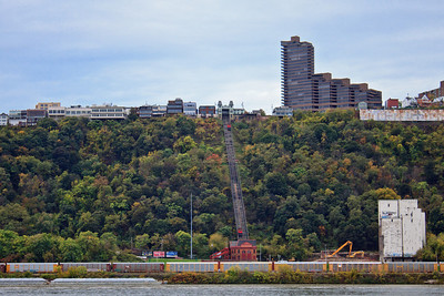 The Duquesne Incline upon Mt. Washington