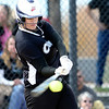 Niwot's Nikkie Blue hits against Palmer Ridge during their 2012 State Softball game in Aurora, Colorado October 19, 2012. BOULDER DAILY CAMERA/ Mark Leffingwell