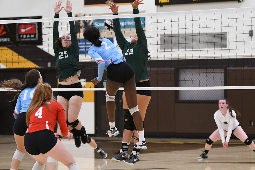 . Patrick Hopkins - The News-Herald Photos from the VASJ-Laurel volleyball match on Oct. 21 at Brush.