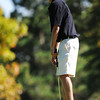 Peak to Peak High School's Max Clark watches his ball just miss the hole as he putts on the 18th hole green during the 2012 CHSAA 3A State Championship held at Denver's Pinehurst Country Club on Tuesday, October 2, 2012. (Kira Horvath/Daily Camera)