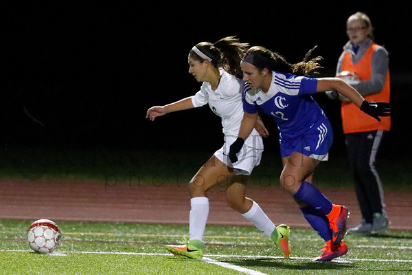 10.25.16 Cedar Crest vs. Conestoga Valley Girls Soccer