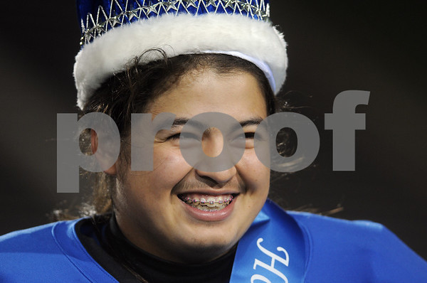 photo by Sarah A. Miller/Tyler Morning Telegraph  John Tyler High School football player senior Emmanuel Terrazzas was crowned Homecoming king Friday night at Trinity Mother Frances Rose Stadium.