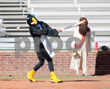 Halloween College Baseball Game