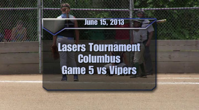 Lasers Tournament Game 5 vs Vipers