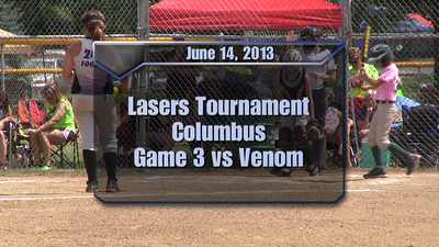 Lasers Tournament Game 3 vs Venom