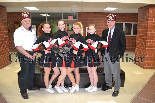 11-15 Shrine Bowl cheerleaders
