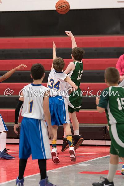 Boys 5-6 Grade Basketball -  Saint Andrew vs Dixon Catholic - November 22, 2014