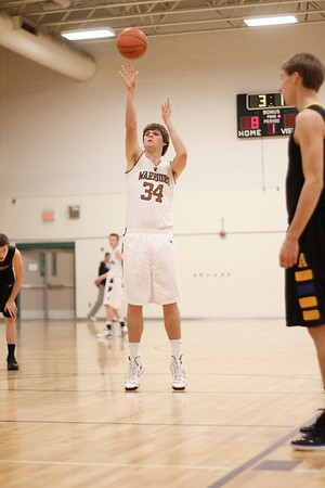 Westwood's Mitchell Jeter takes a free throw against Anderson at the McNeil Classic on Thursday.