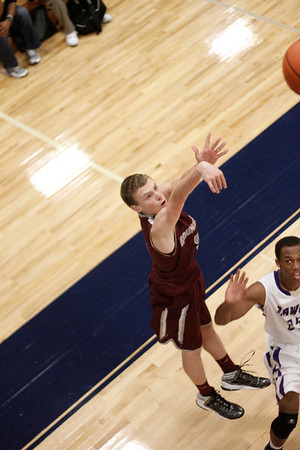 Round Rock's Ryan Layne takes a shot against Midland at the McNeil Classic on Thursday.