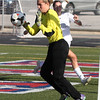 Ontario's goalie Emma Ruhe saves a kick by Bay during the first half.  Randy Meyers -- The Morning Journal