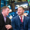 Courtesy UFC<br /> UFC heavyweight champion Stipe Miocic at the New York Stock Exchange on Nov. 11. Miocic was part of the closing bell ceremony.