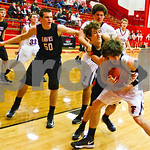 1/11/13 Robert E. Lee High School Boys' Basketball vs Rockwall High School by Jan Barton & Shannon Wilson