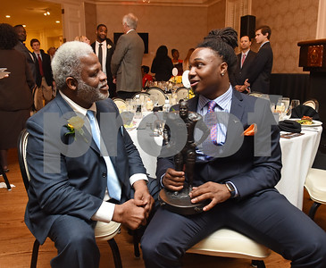 1/11/17 Earl Campbell Tyler Rose Award Banquet by Jim Bauer and Sarah Miller