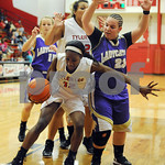 11/13/12 Robert E. Lee Girls Basketball vs. Hallsville by Sarah Miller