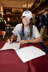 Taft Athletes sign Letters of Intent to play college sports