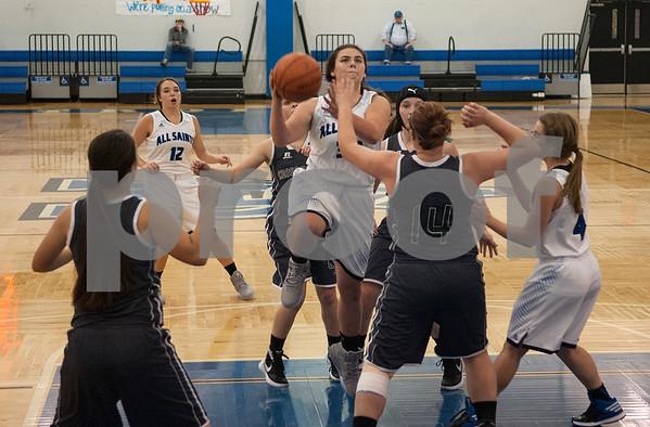 11/17/15 All Saints Episcopal School Women's Basketball vs Cross Roads High School by Sarah Miller
