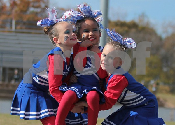 11/21/15 Greater ET Pee Wee Football Cheerleader Super Bowl by Cori Smith