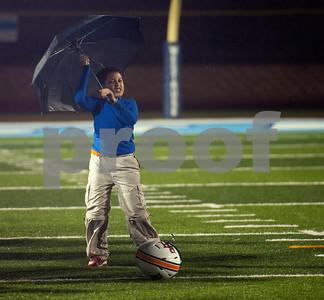 Rainy Football Feature