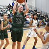 Strongsville's Madison Pavone (23) pulls down a rebound in the second quarter.  Eric Bonzar — The Morning Journal