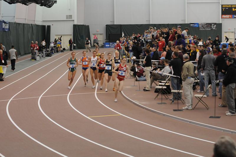 12-13 March 2010 Indoor National Meet DePauw University 100