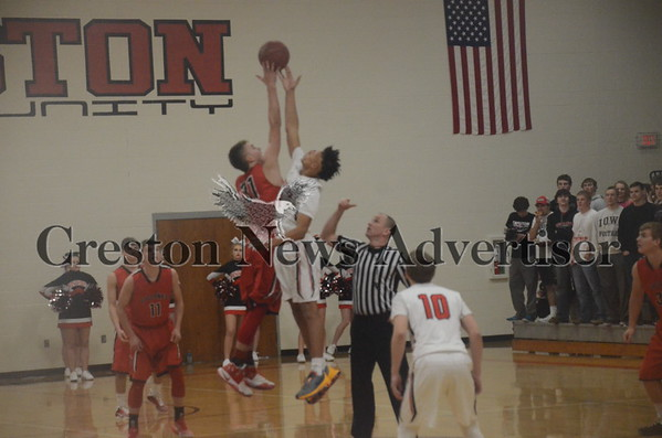 12-14 Harlan at Creston boys basketball