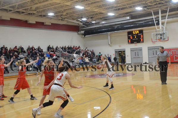 12-14 Harlan at Creston girls basketball