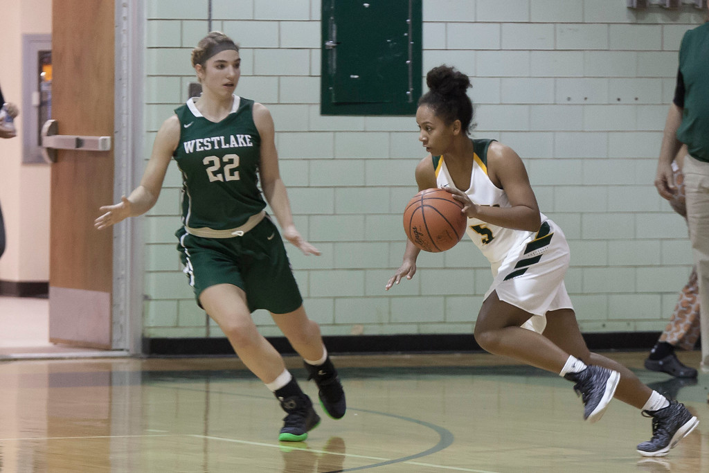 . Amherst\'s Faith Lewis faces off against Westlake\'s Gina Adams. Jen Forbus -- The Morning Journal