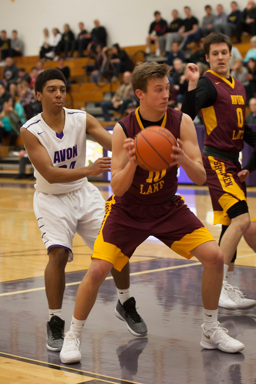 . Shoreman guard Nate Sidloski comes down with the rebound.Jen Forbus -- The Morning Journal