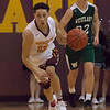 Shoremen guard Jordan Ball is running on air in a breakaway against Westlake. Jen Forbus -- The Morning Journal