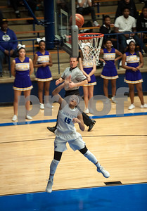 John Tyler's Ashtyn Beal shoots a basket in their game against Lufkin Friday night Jan. 22, 2016 at home.  (Sarah A. Miller/Tyler Morning Telegraph)