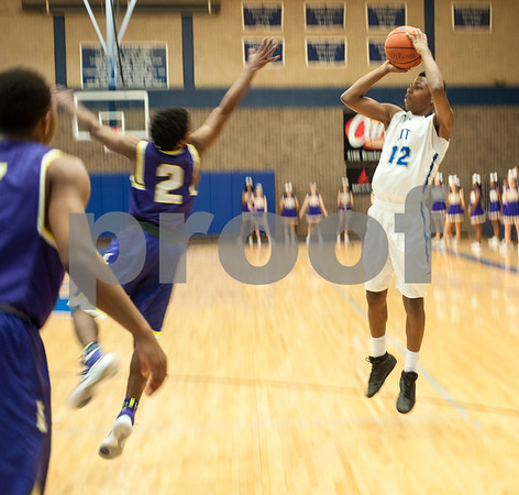 John Tyler's Carlin Gray shoots a basket during their game against Lufkin Friday night Jan. 22, 2016 at home.  (Sarah A. Miller/Tyler Morning Telegraph)
