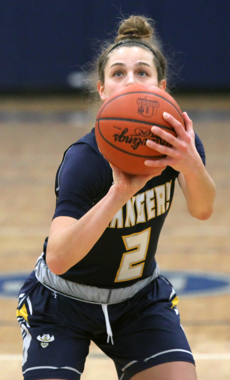 . North Ridgeville\'s Izzy Geraci eyes a free throw. Randy Meyers -- The Morning Journal
