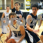 12/28/12 Wagstaff Holiday Boys' Basketball Classic - All Saints Episcopal School vs. King's Academy School by Sarah Miller
