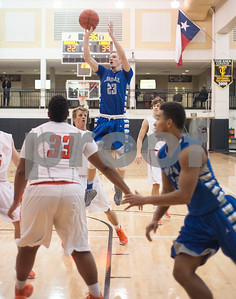 Lindale's (23) Jordan Gray shoots a basket during their game against Brook Hill Wednesday Dec. 30, 2015 in the Wagstaff Holiday Classic.  (Sarah A. Miller/Tyler Morning Telegraph)
