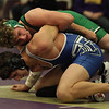 Columbia's Mike Lovell has a hold advantage and eventually pins Trinity's Anthony Sanna. Randy Meyers -- The Morning Journal