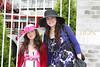 Alana Galloway and Nikki Klarberg outside the 135 Kentucky Derby.