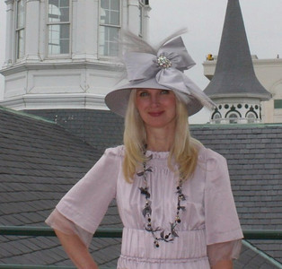 My Derby Hat!  Sara Herbert-Galloway