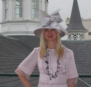 My Derby Hat!  Sara Herbert-Galloway