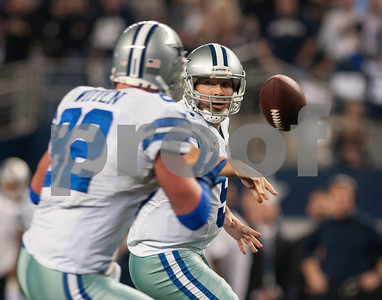 photo by Sarah A. Miller/ Tyler Morning Telegraph   Dallas Cowboys' quarterback Tony Romo passes the ball to tight end Jason Witten as they played the Detroit Lions Sunday Jan. 4, 2015 during their game at AT&T Stadium in Arlington, Texas. The Cowboys beat the Detroit Lions, 24-20.
