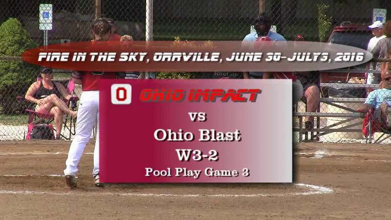 Pool Play Game 3 vs Ohio Blast W3-2