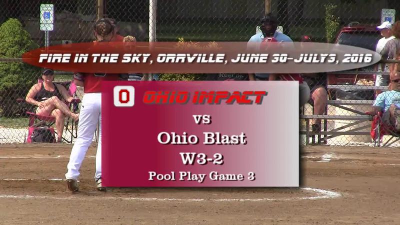 Pool Play Game 3 vs Ohio Blast W3-2