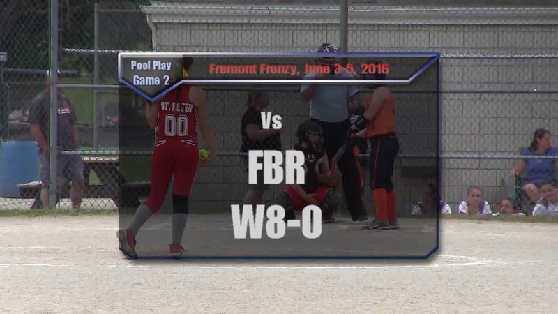 Fremont Frenzy Pool Play Game 2 vs FBR W8-0