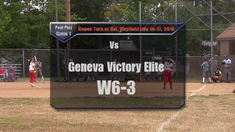 Pool Play Game 1 vs Geneva Victory Elite W3-6
