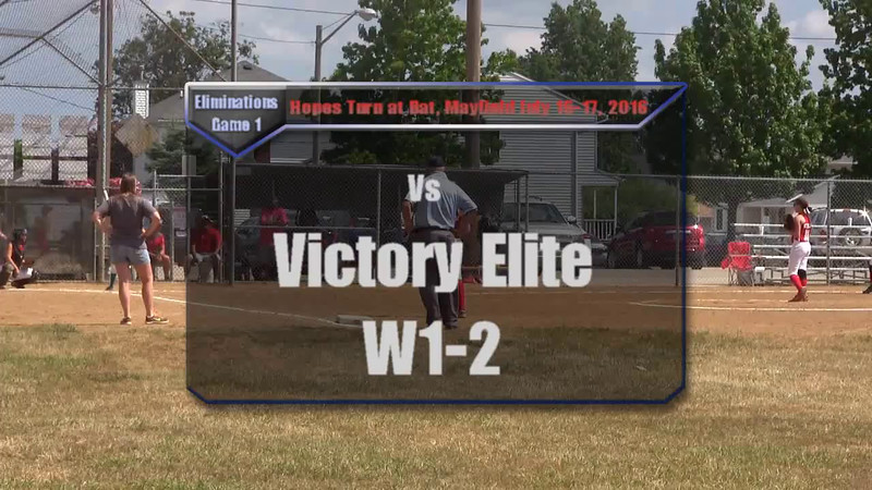 Eliminations Game 1 vs Victory Elite W1-2